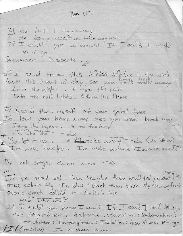 isolation song lyrics
